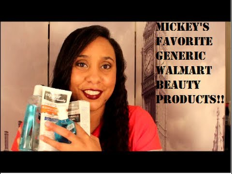 Favorite Walmart Generic Beauty Products (Equate Beauty)