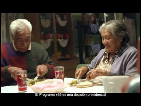 Spot del Programa +65 del Gobierno de México