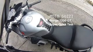 9. Moto Guzzi Norge 1200 GT Quick Test Ride