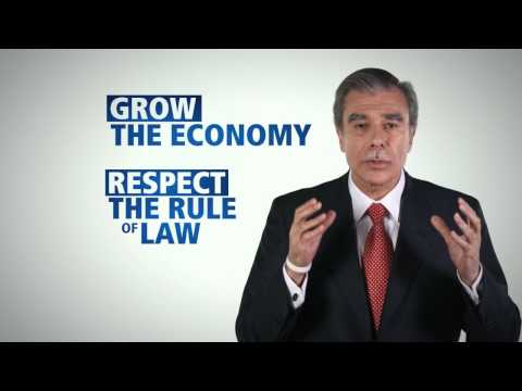 "Video: Hispanic Leadership Network: Carlos Gutierrez ""Be Part of the Solution"""