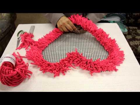 Alfombras tejidas con totora videos videos for Como hacer alfombras a mano