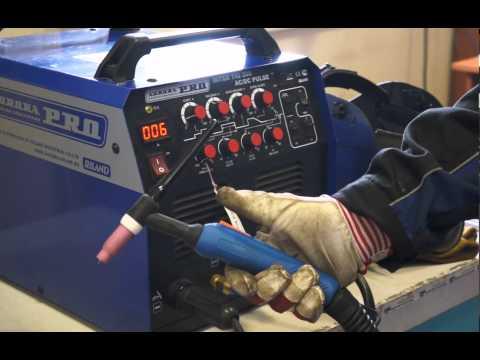 AuroraPRO Inter TIG 200 AC/DC PULSE — универсальный инверторный сварочный аппарат