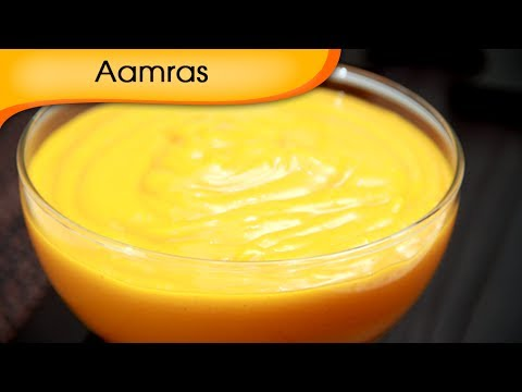 Aamras – Sweet Mango Shake Recipe – Vegetarian [HD]