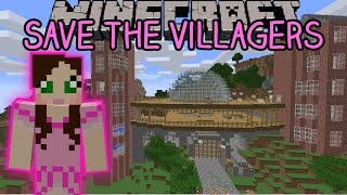 Minecraft: Save The Villagers (Custom Map)