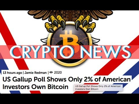 XRP MEME GIVEAWAY - Crypto - US Gallup Poll Shows Only 2% of American Investors Own Bitcoin