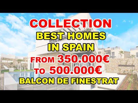 350-500000€/Balcon de Finestrat/Video BEST VILLAS in Spain/Houses under construction/House Finestrat