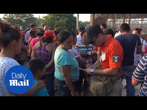 Mexican immigration offers humanitarian visas to caravan members - Daily Mail
