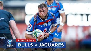Bulls v Jaguares Rd.8 2019 Super rugby video highlights | Super Rugby Video Highlights