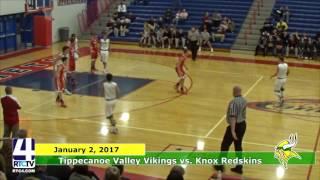 TVHS Boys Basketball vs Knox Redskins
