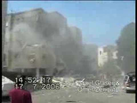 Missile attack on Haifa Israel