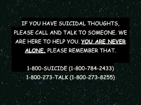 Suicide - If you are contemplating suicide, please listen to this. It will change your mind. If you know anyone who is contemplating suicide, make them listen. Thank y...