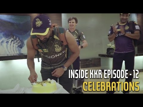 Celebrations | Inside KKR Episode 12 | VIVO IPL 2016