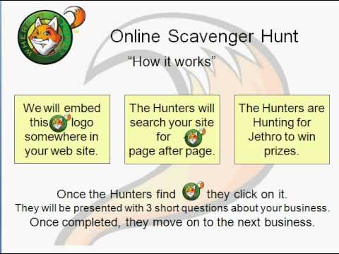 Where Is Jethro Online Scavenger Hunt For Businesses