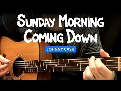 Sunday Morning Coming Down (Johnny Cash) Guitar Chord Chart