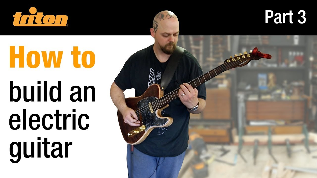 Part 3 – Build an electric guitar with Crimson Guitars