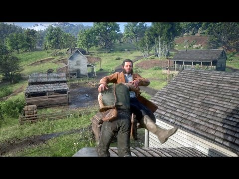 Red Dead Redemption 2 - Funny & Brutal Moments Vol. 37 (Euphoria Ragdolls)