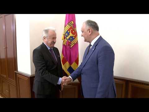 Президент Республики Молдова провел встречу с Послом Турецкой Республики