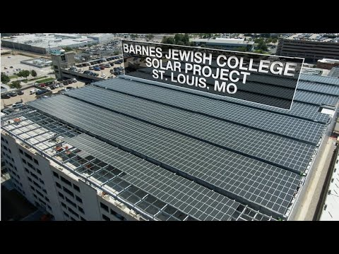 The NECA/IBEW Powering America Team is Flipping the Script on Solar Power at Barnes Jewish College