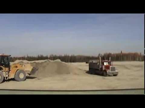 Massive Gravel Pit - Fort McMurray Oil Sands