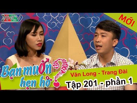 Bạn muốn hẹn hò Tập 201 - Chết cười vì cô nàng nói giọng HongKong tỏ tình với chàng trai