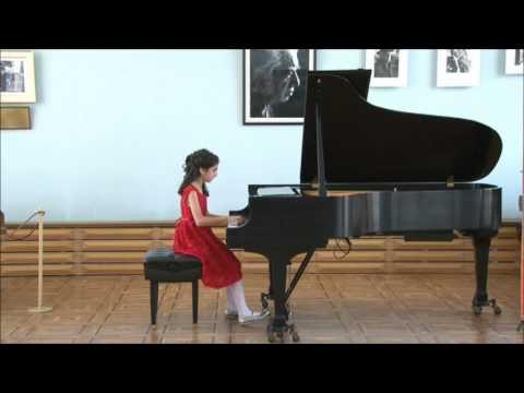 Humoresque by Arno Babajanyan. Performer: Diana Babajanyan / Арно Бабаджанян, Юмореска онлайн видео