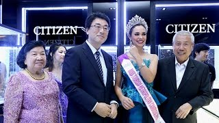 CITIZEN WATCH GRAND OPENING IN NAGA CITY WALK