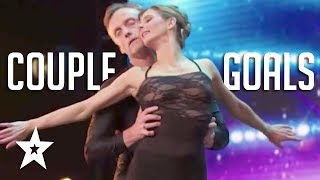 These are some amazing top couple goals!! Watch the five of the best dance couples auditions on Got Talent Global. What did you think of the performances? Let us know in the comments below.. Got Talent Global brings together the very best in worldwide talent, creating a central hub for fans of the show to keep up to date with the other sensational performances from around the world.Subscribe to Got Talent Global: http://www.youtube.com/user/gottalentglobalWatch more Got Talent Global videos: https://www.youtube.com/watch?v=w-z5mbZ-yCI&list=PLF-BDTAHX0p5xf2caJw3l9oPmuHI0PJRAFacebook: https://www.facebook.com/gottalentglobalTwitter: https://twitter.com/gottalentglobal