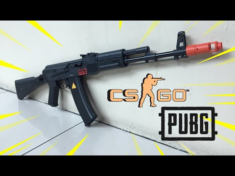 ALPHA KING AK74M (Unboxing, Review and FPS Testing) - Blasters Mania