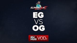 Evil Geniuses vs OG, Moonduck Elimination Mode II, Grand Final, game 2 [Maelstorm, Smile]