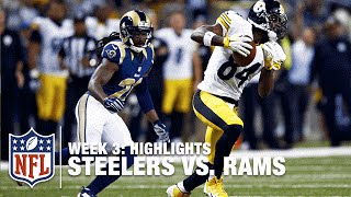 Steelers vs. Rams | Week 3 Highlights | NFL