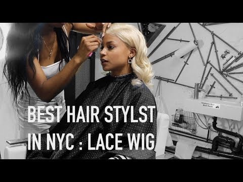 ALIPEARL 613 WIG INSTALL + REVIEW : BEST HAIR SALON IN NYC  ARIANA.AVA