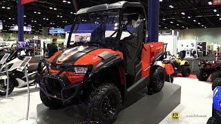 5. 2017 Kymco UXV 450i Utility ATV - Walkaround - 2016 AIMExpo Orlando