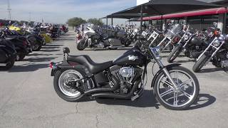 3. 051307   2004 Harley Davidson Softail Night Train   FXSTBI - Used motorcycles for sale