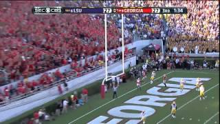 09/28/2013 LSU vs Georgia Football Highlights