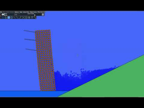 Phun destructible dam