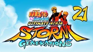 Naruto Shippuden Ultimate Ninja Storm Generations - Walkthrough Part 21 Killer Bee&Kage Summit