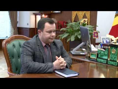 Игорь Додон провел встречу с директором СИБ