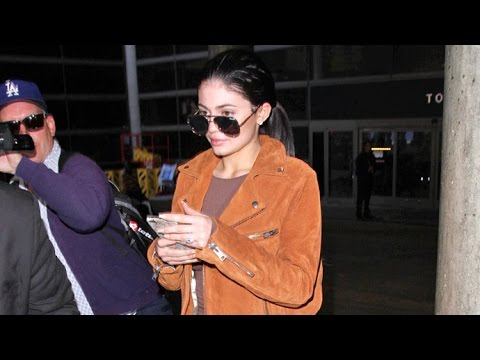 Kylie Jenner Looks SO Engaged Returning Home From Romantic Vacay With Tyga