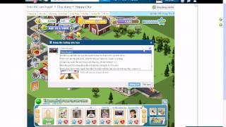 Hack điểm kinh nghiệm - Level 127  Happy City- Thành phố vui vẻ ngày 14/09/2011
