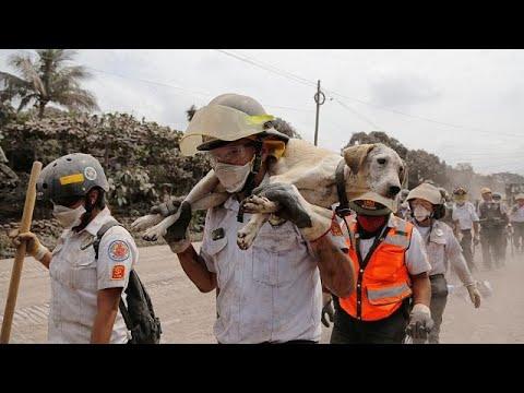 Νέα έκρηξη του ηφαιστείου Φουέγκο