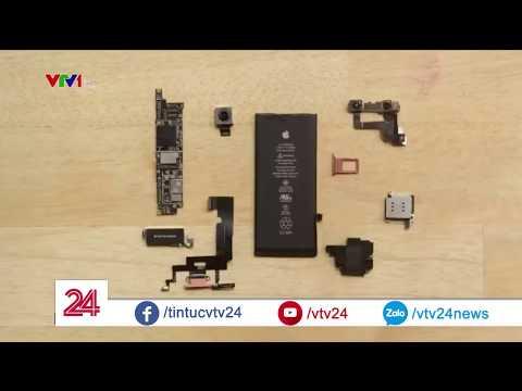 iPhone hắt hơi, cả chuỗi cung ứng cho Apple chao đảo | VTV24 - Thời lượng: 2:02.