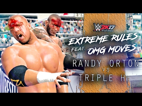 Video EXTREME RULES - WWE 2K17 Triple H vs Randy Orton | Extreme Rules Match feat. OMG MOVES Gameplay download in MP3, 3GP, MP4, WEBM, AVI, FLV January 2017