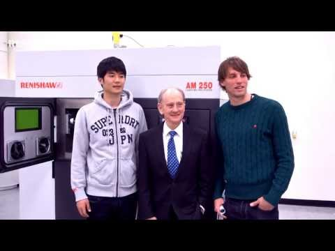 Ki Sung-Yeung (기성용) & Michu visit Renishaw