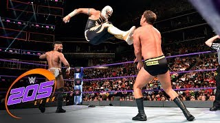 Nonton Cedric Alexander & Gran Metalik vs. Tony Nese & Drew Gulak: WWE 205 Live, Aug. 22, 2017 Film Subtitle Indonesia Streaming Movie Download