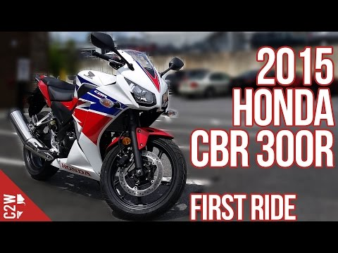 2015 Honda CBR 300R | First Ride