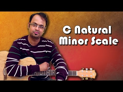 How To Play – C Natural Minor Scale – Guitar Lesson For Beginners