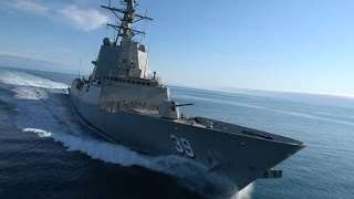 Hobart (IN) United States  city photos : Royal Australian Navy Air Warfare Destroyer Hobart Sea Trials