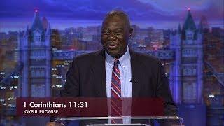 Joyful Promise Ep260   I Corinthians 11v31