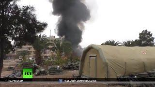 Боевики оппозиции обстреливают Алеппо: погибли двое российских медиков