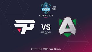 Alliance  vs paiN Gaming, ESL  One Hamburg, bo2, game 2 [Mila & Lum1sit]